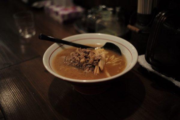 Bovine bone soy sauce ramen