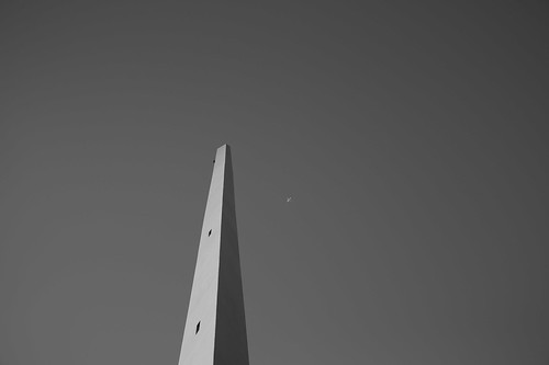 Tower and airplanes