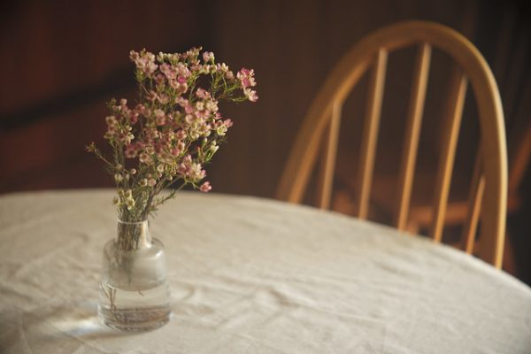 Vase of the table