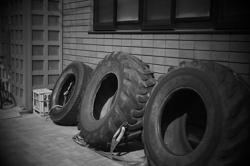 Training tire