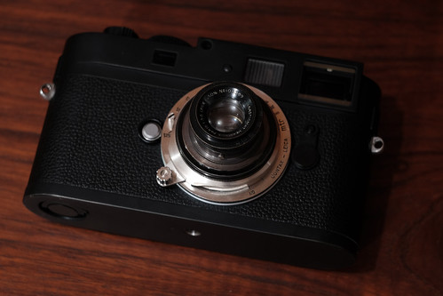 M Monochrom & HERMAGIS PARIS LYNX 1:3,5 F=50mm