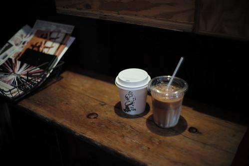 hand drip & caffè e llatte